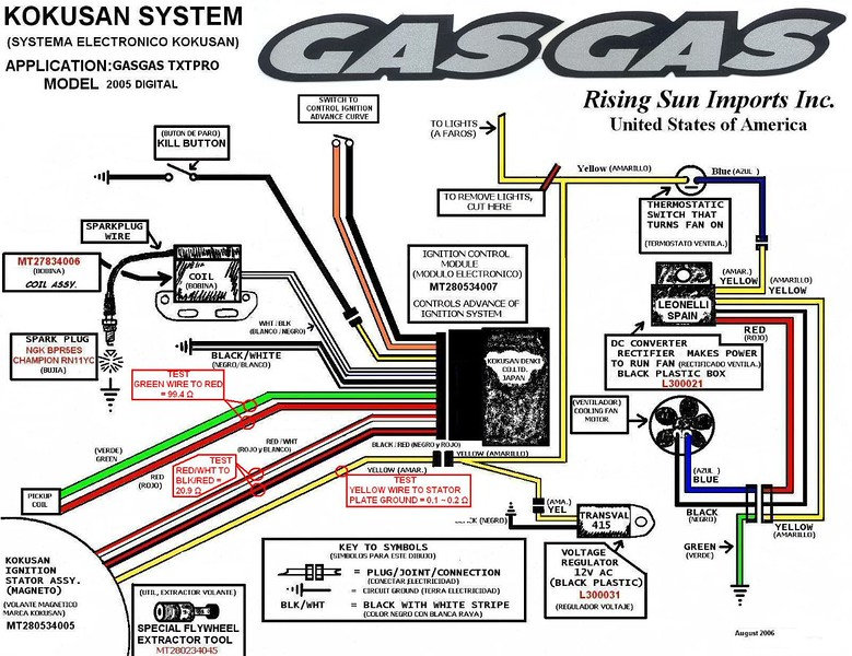 2007 Kokusan Digital 2 Wiring Diagram L led lighting solutions for night riding or whatever page 2 supernight voltage regulator wiring diagram at gsmx.co